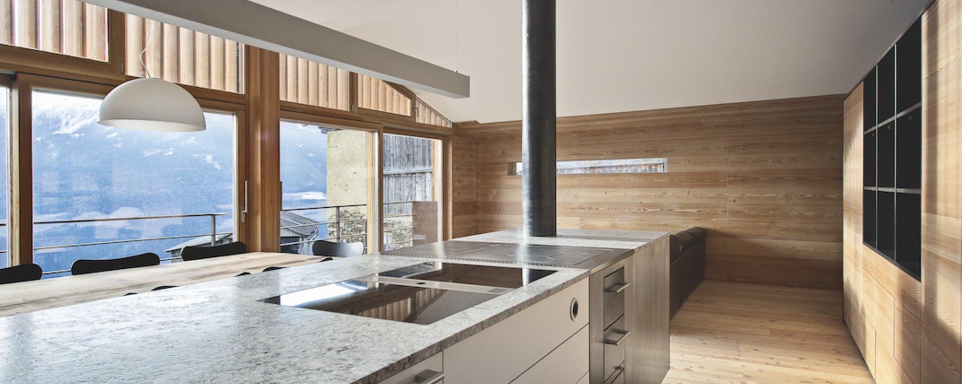 Su misura cucina economica a legna pertinger for Cucine pertinger