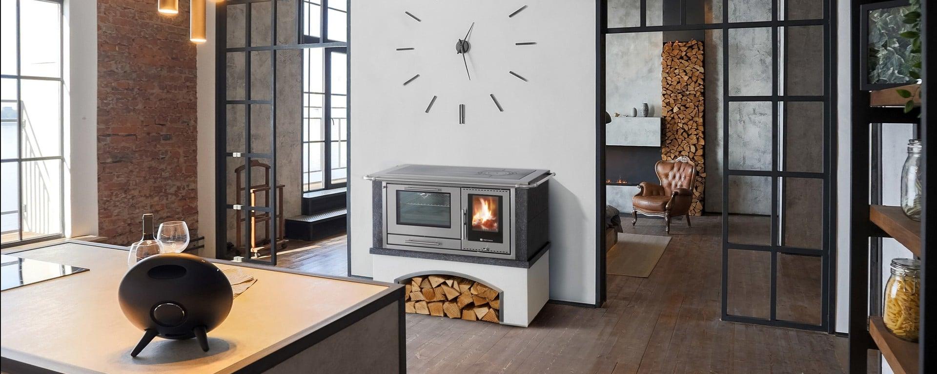 Prefabbricate cucina economica a legna pertinger for Cucine pertinger